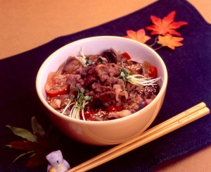 Brimming Bowl of Beef and Vegetables