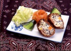 牛肉と豆腐のコロッケ