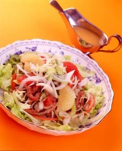 牛肉のタタキ風 モリモリサラダ